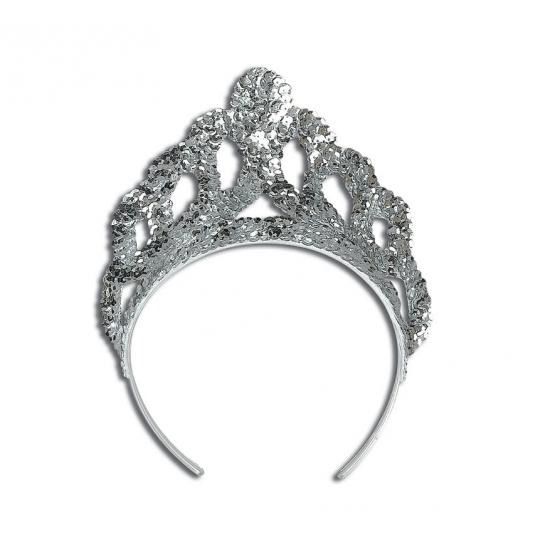 Mooie zilveren prinsessen tiara