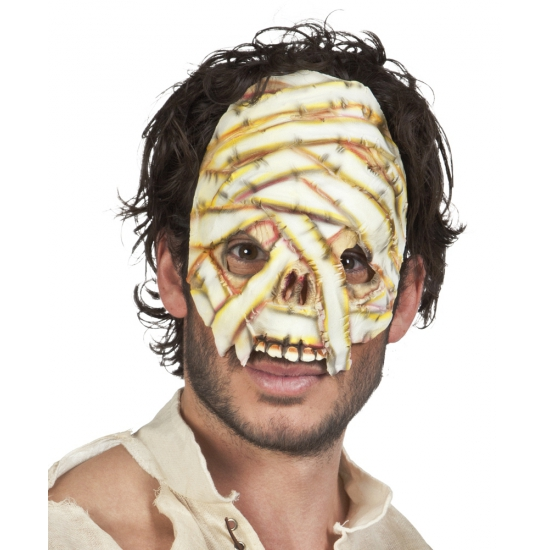 Mummie gezichtsmasker voor volwassenen