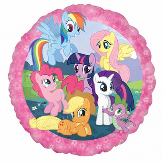 My Little Pony folie ballon