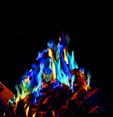 Mystical Fire gekleurd openhaard vuur