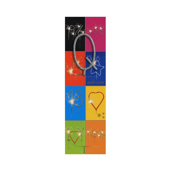 Naam sterretjes letter Q van 7 cm