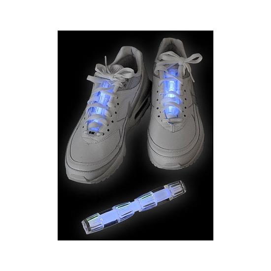 Neon glow schoenverlichting blauw