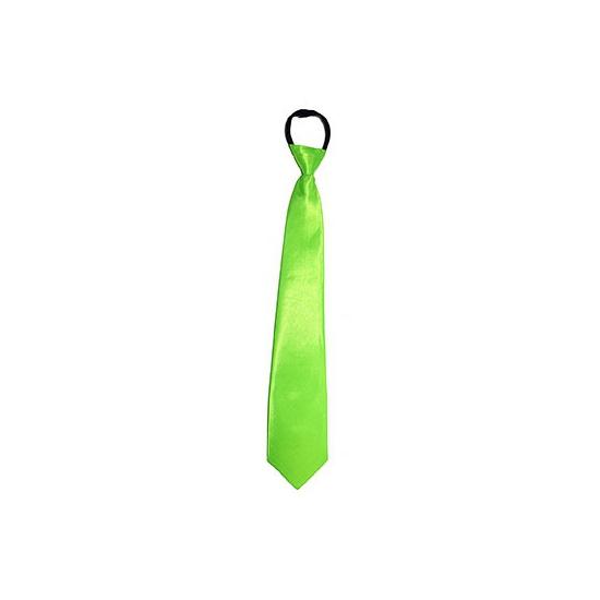 Neon groene stropdas