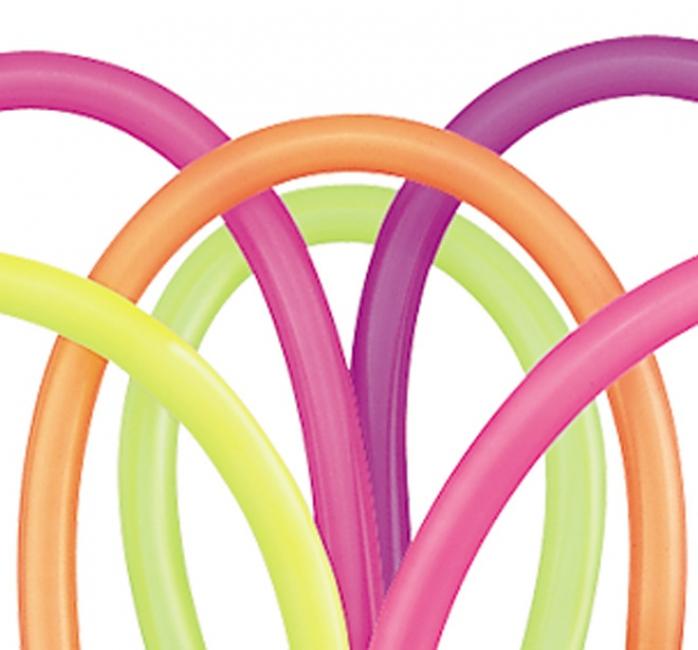 Neon modelleerballonnen 100 stuks