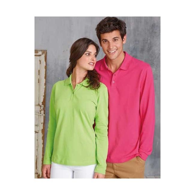 Neon poloshirt voor dames en heren