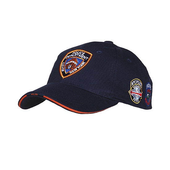 New York police pet donkerblauw