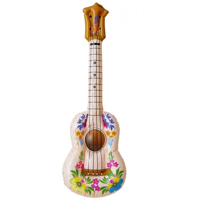 Opblaasbare hippie gitaar
