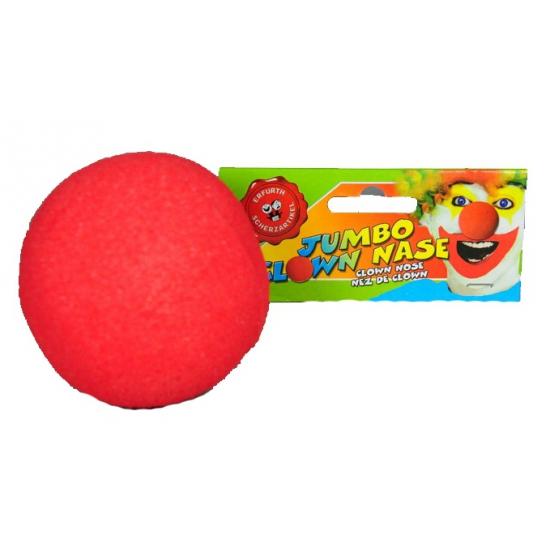 Opzet clownsneuzen rood 8 cm