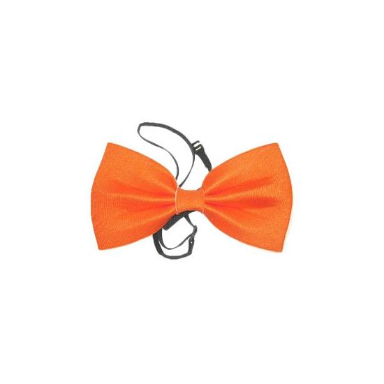 Oranje fop vlinderstrik