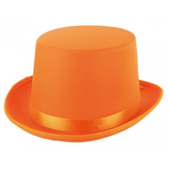 Oranje hoge hoeden