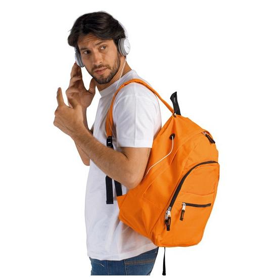 Oranje rugtas voor volwassenen 24 liter