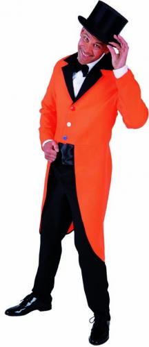 Oranje slipjassen met rood wit blauwe knopen