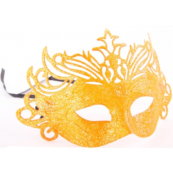Oranje supporters oogmaskers