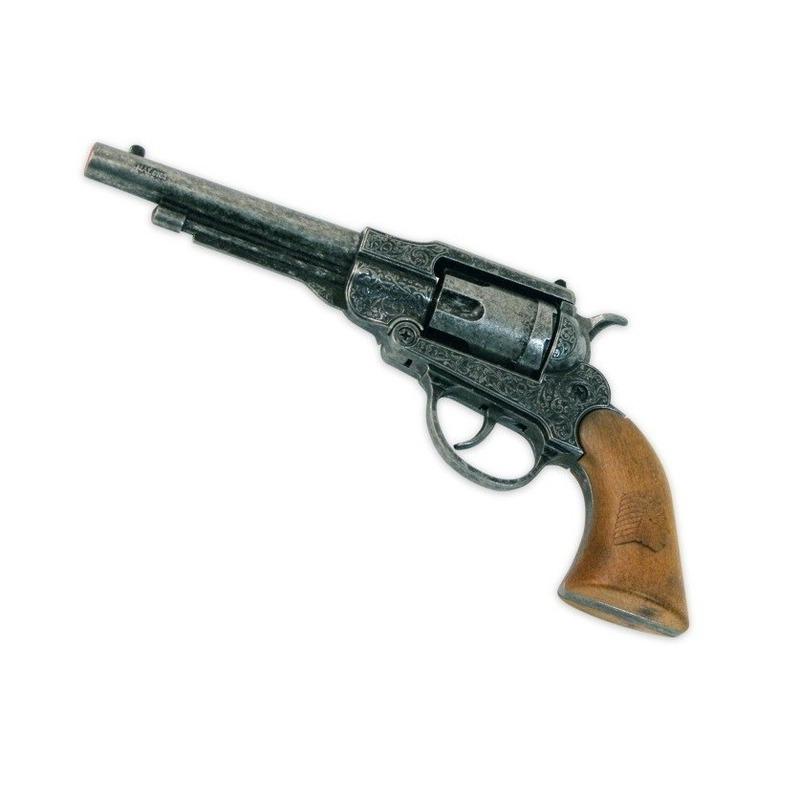 Ouderwetse revolver 8 schoten