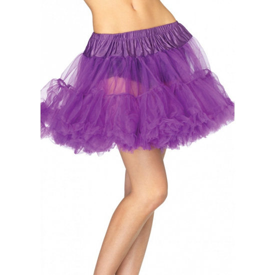 Paarse luxe petticoat