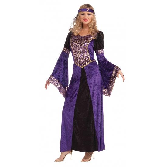 Paarse Oosterse jurk