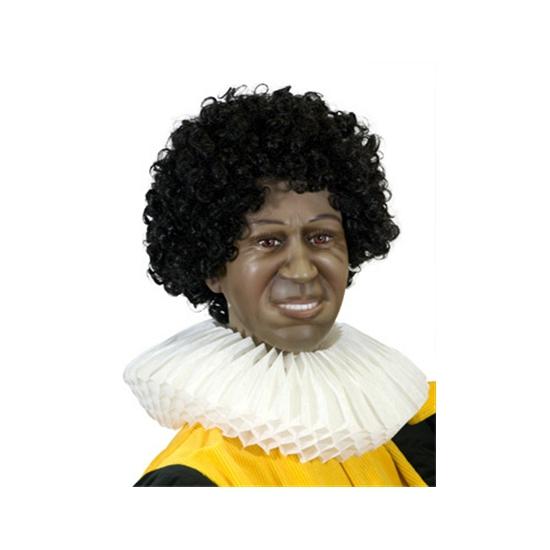 Page kraag van papier Zwarte Piet