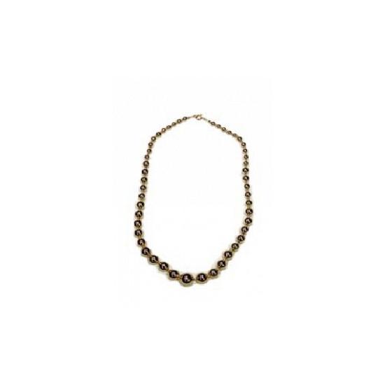 Parel ketting goud 60 cm