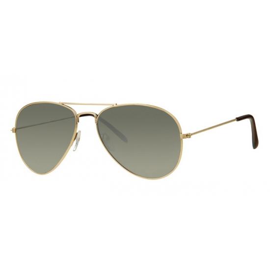 Piloten zonnebril kind zilver