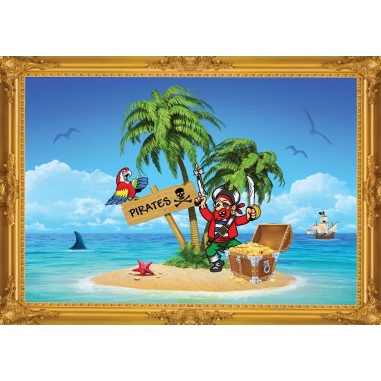 Piraten schateiland poster