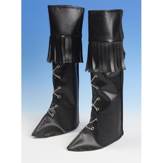 Piraten schoenhoezen met franje