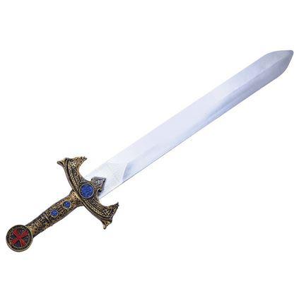Plastic kruisvader zwaard