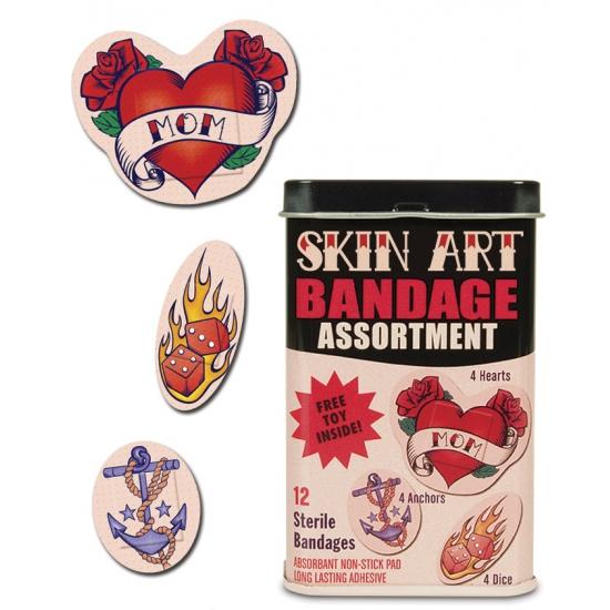 Pleisters met tatoeage afbeeldingen