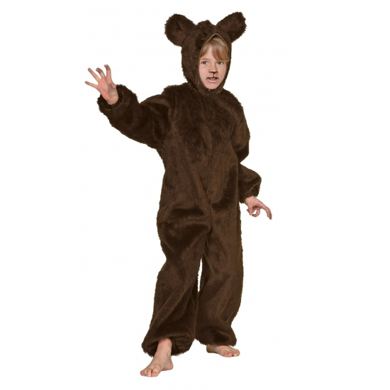 Pluche beren pak bruin kinderen