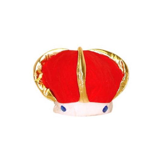 Pluche koningskroon