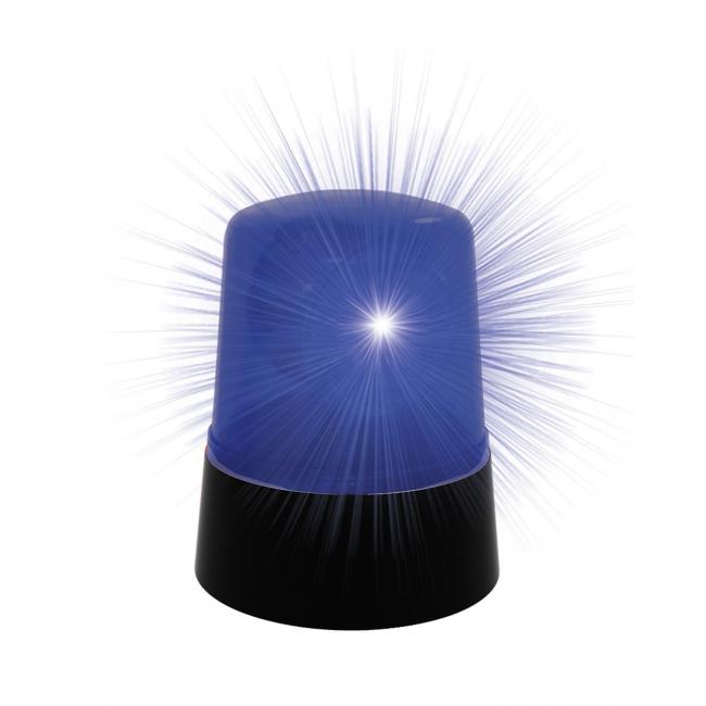 Politie auto lamp blauw