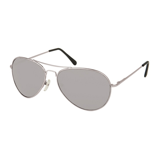 Politie brillen met zilveren glazen