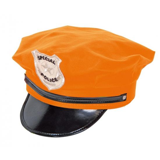 Politie pet oranje