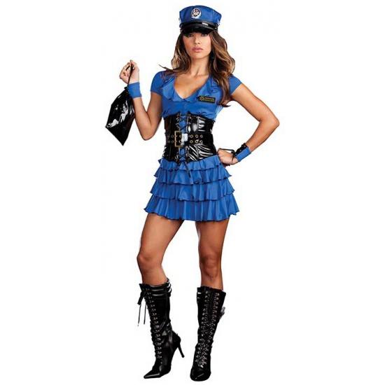 Politie verkleed outfit voor dames