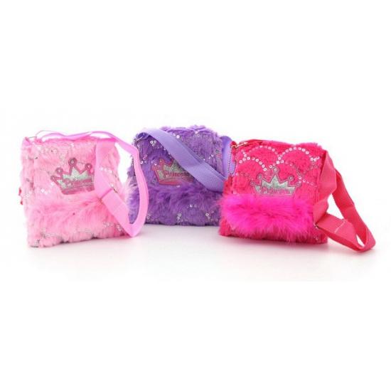 Prinsessen tas met kroontje