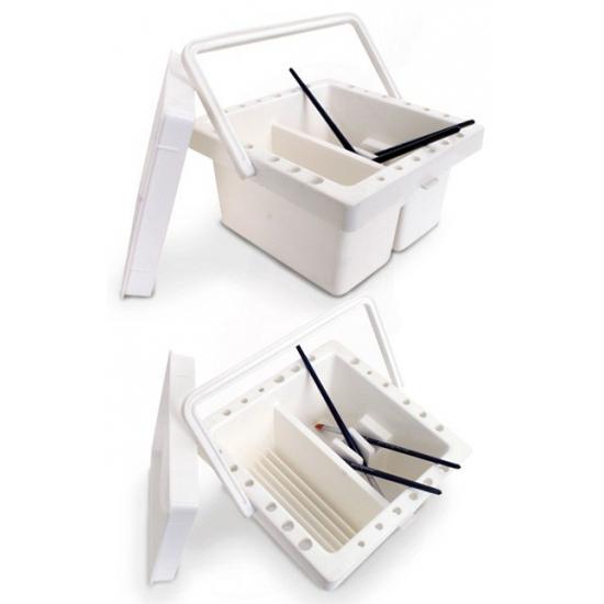 PXP bakje om penselen schoon te maken