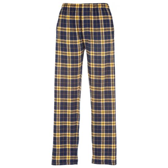 Pyjamabroek blauw/geel