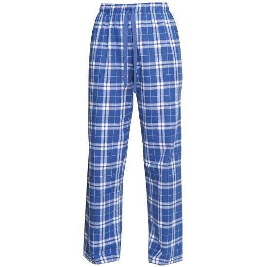 Pyjamabroek blauw/zilver