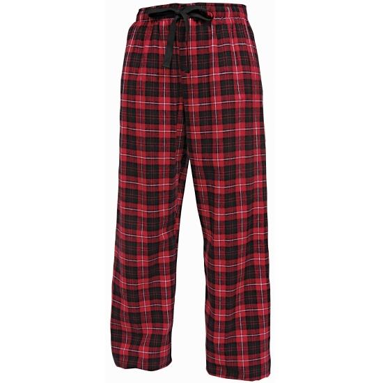 Pyjamabroek rood/zwart