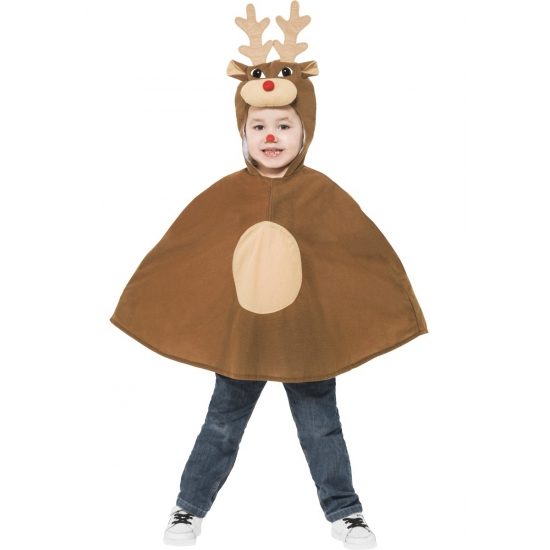 Rendieren kinder poncho
