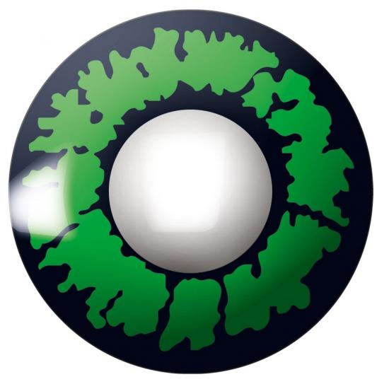 Reptiel feestlenzen groen