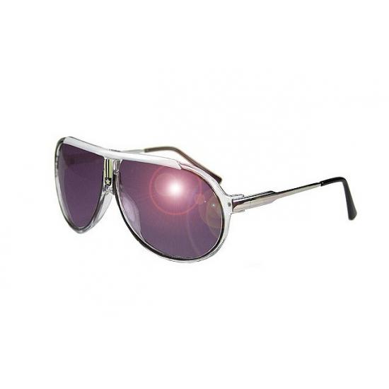 Retro zonnebril zwart voor volwassenen