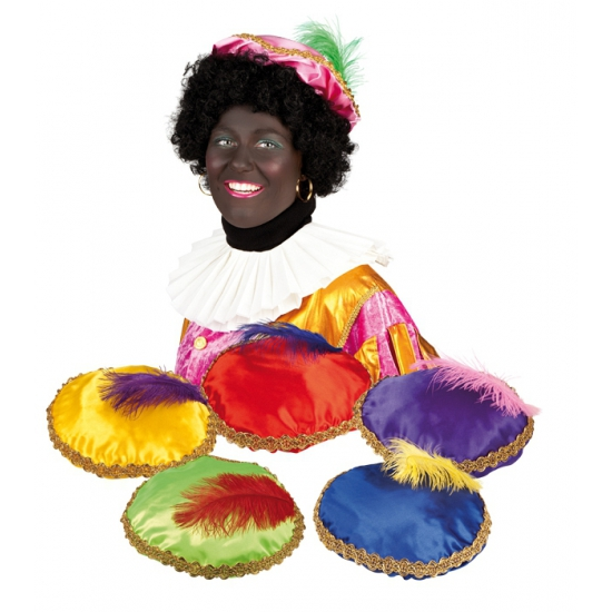 Rode baret Zwarte Piet