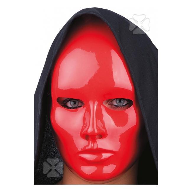Roodkleurig masker