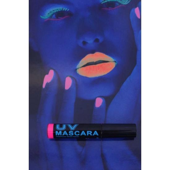 Roze mascara UV licht