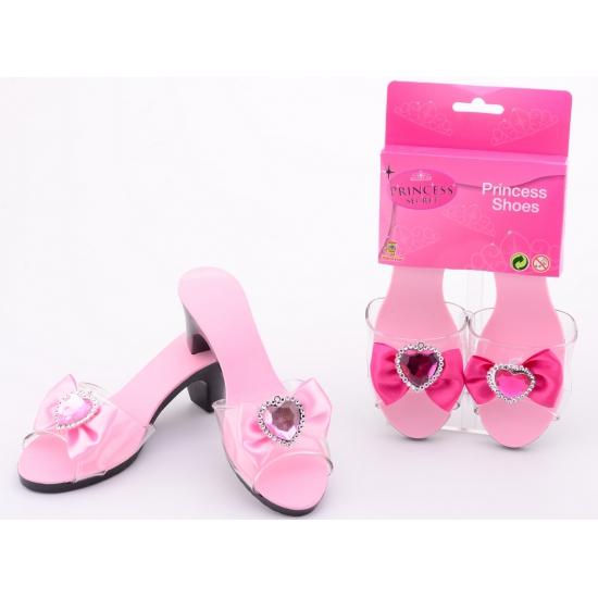 Roze meiden schoentjes met hak