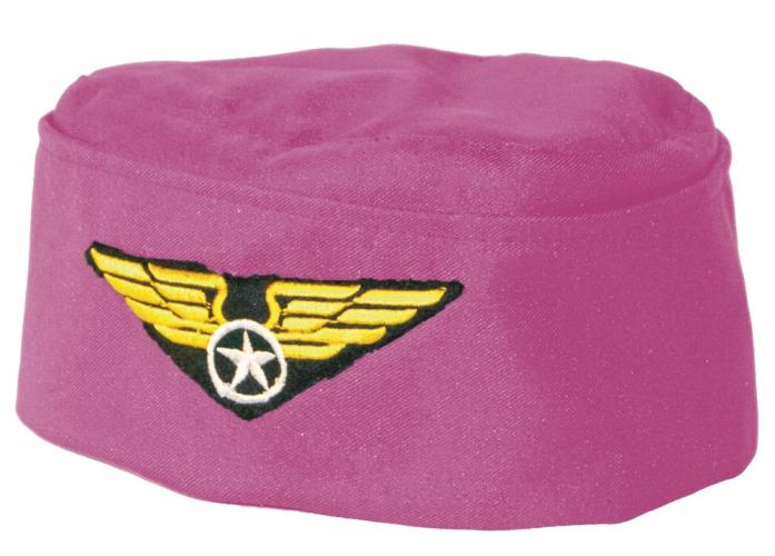 Roze stewardessen hoeden