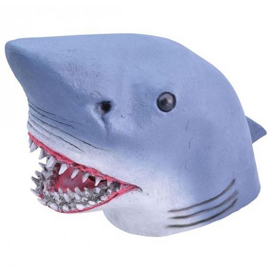 Rubberen haaien maskers