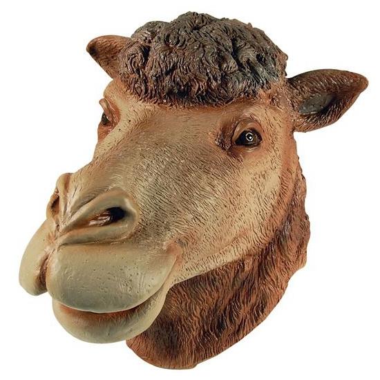 Rubberen masker kameel