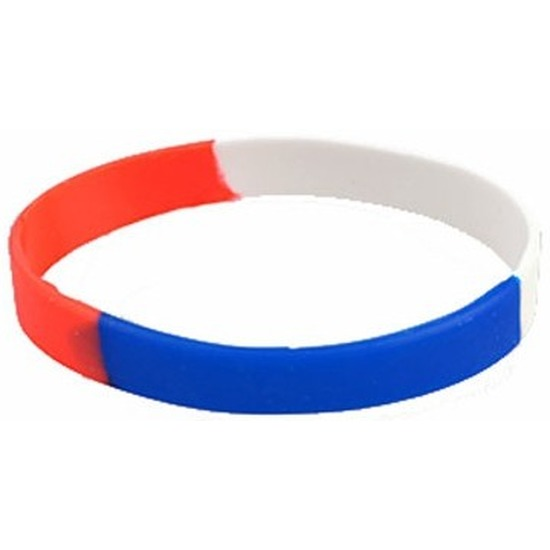 Rubberen supporters armbandje Holland