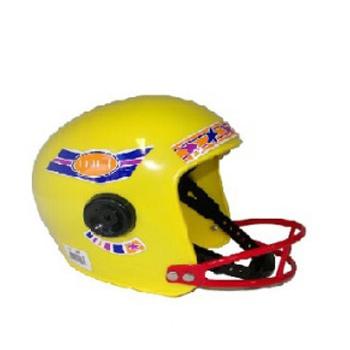 Rugby helm voor kinderen geel